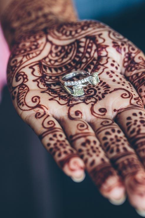 henna tenyér
